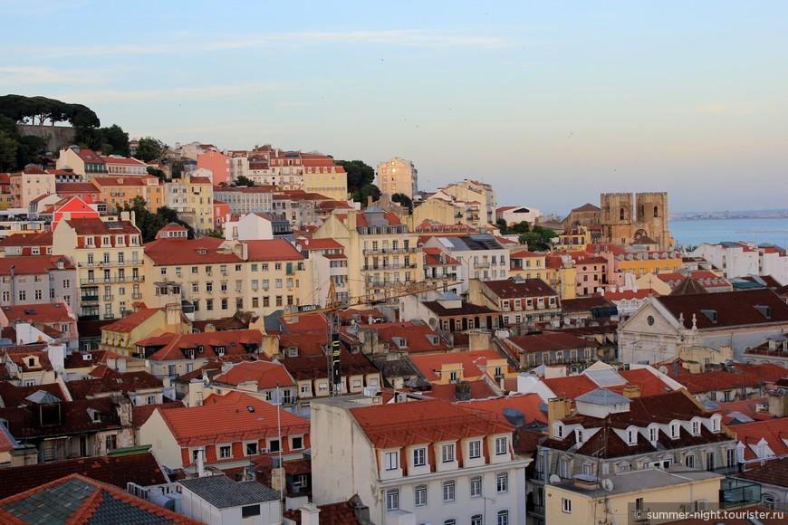 Вечерний Лиссабон.