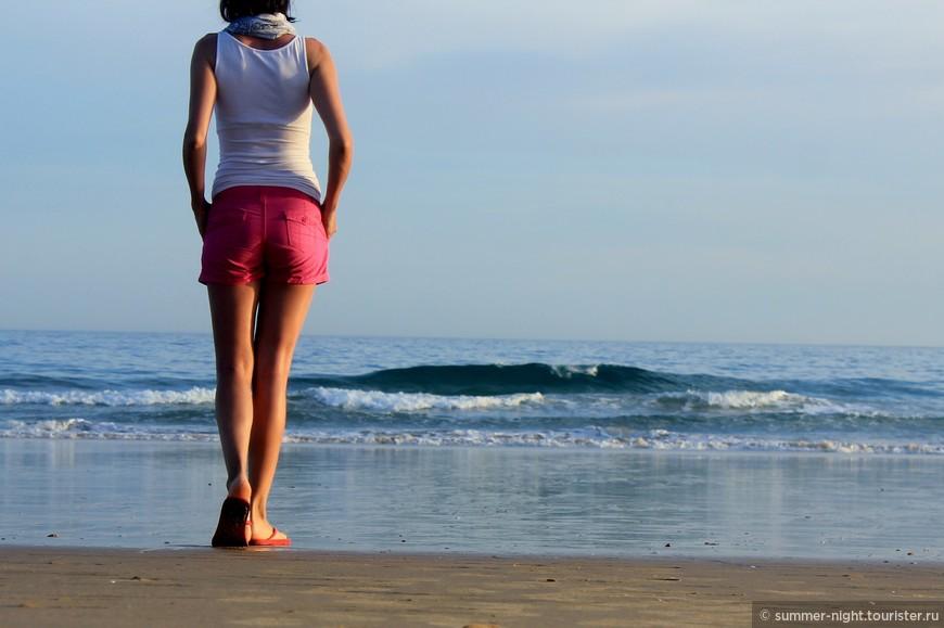 Прощание с океаном.