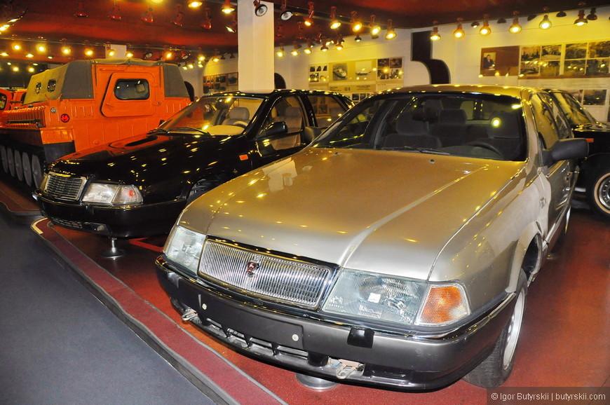 15. А это прототипы, как и в музее АвтоВАЗа, многие из них красивее серийных автомобилей.