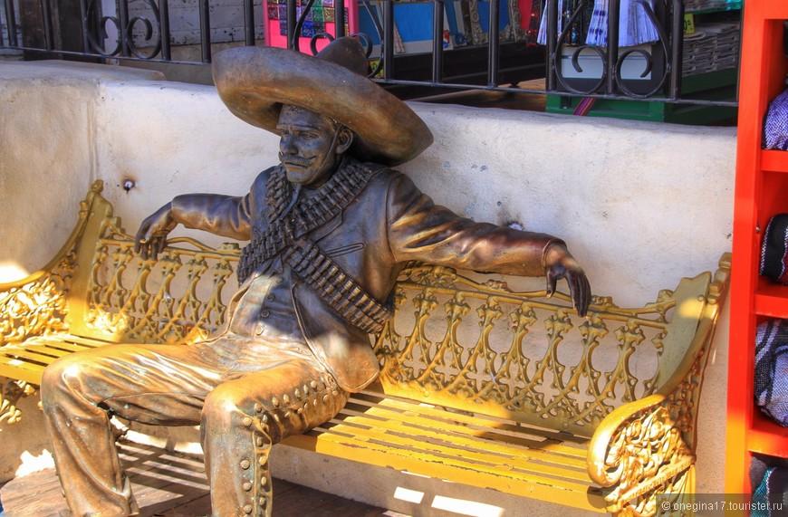 И утомленный мексиканец приглашал посидеть рядом, чтобы поболтать о том, о сем...