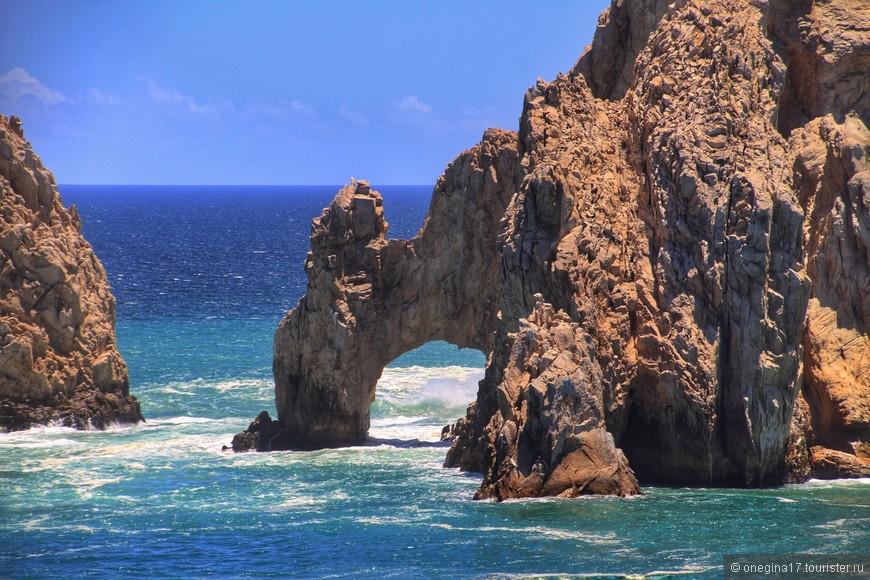 И самое настоящее чудо природы поджидало тоже здесь. в Мексике! Да, природа выточила много таких арок, разбросав из по всему свету, Но эта... Эта арка мне понравилась больше всего!