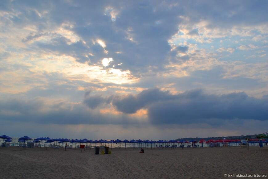 Общественный пляж.