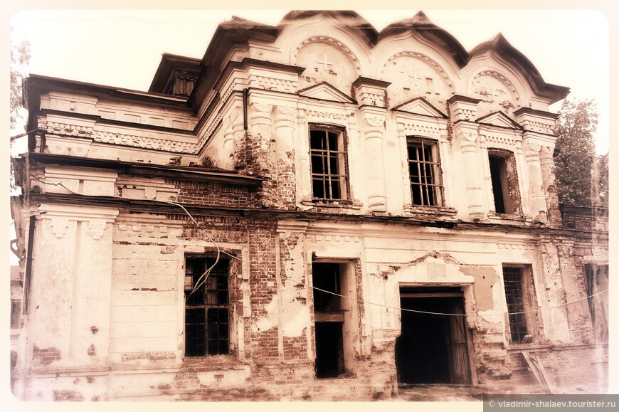 Спасо-Суморин монастырь в Тотьме. Спасо-Преображенский собор.