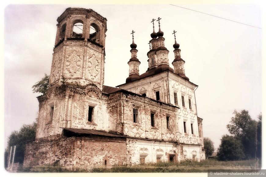Варницы. Воскресенская церковь.
