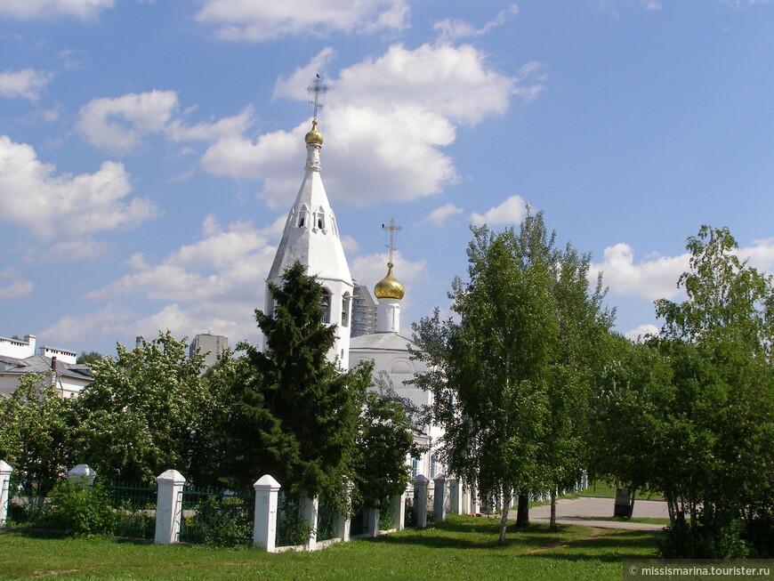 Церковь у Чебоксарского залива