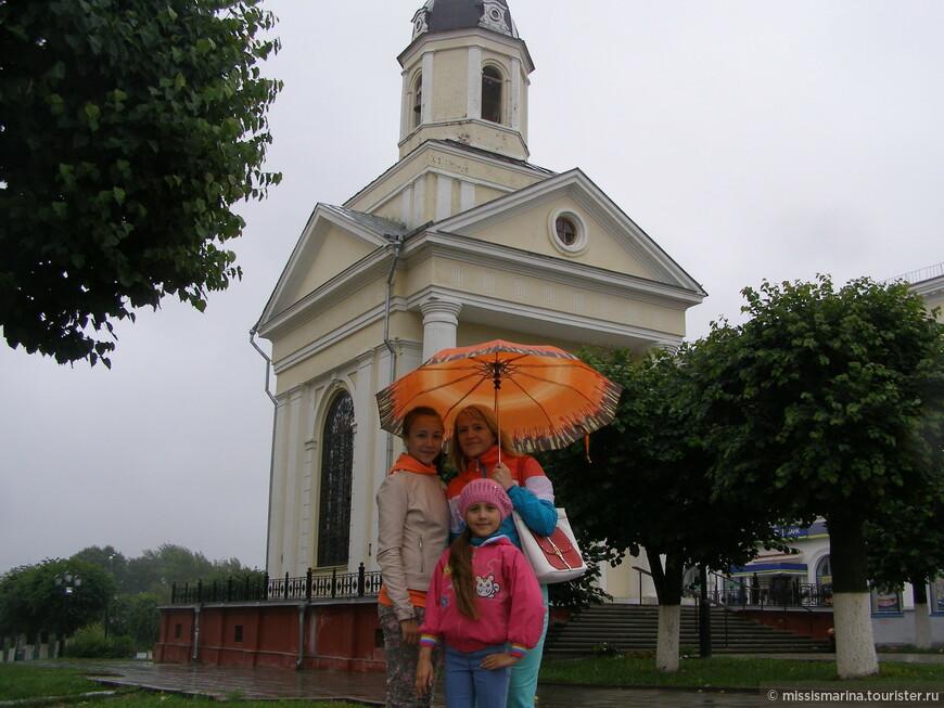 Действующий храм, который мы посетили вместе