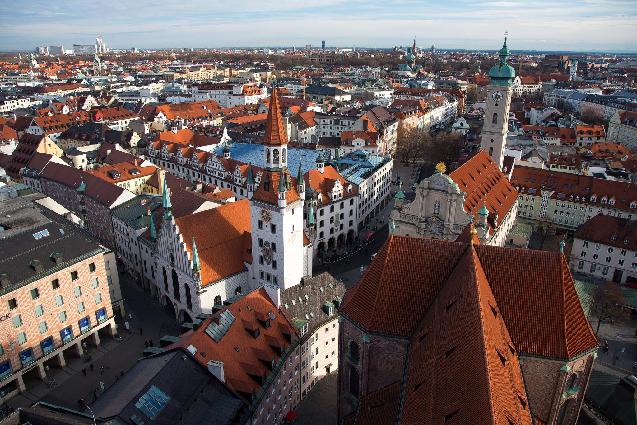 Мюнхен достопримечательности фото и описание