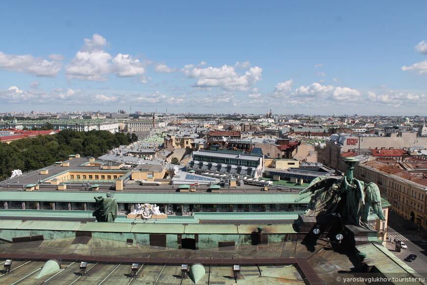Вид в сторону Невского проспекта.