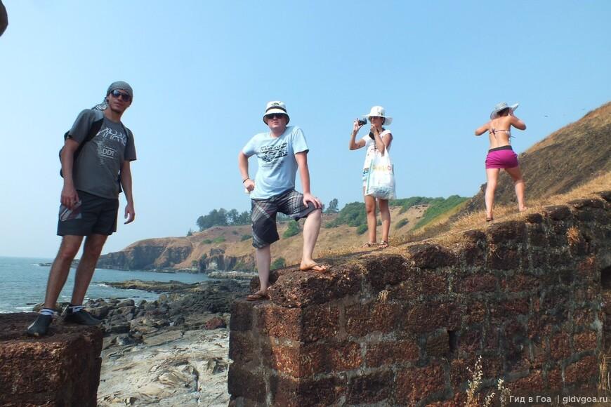 "Экскурсия ""Тайными тропами форта Агуада""."