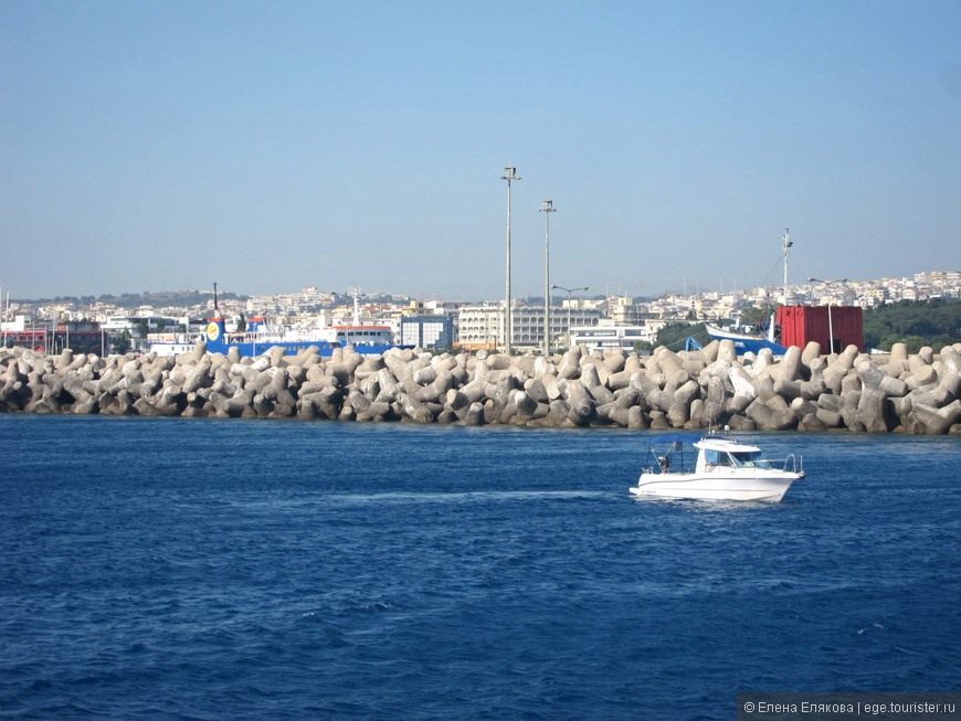 Город Родос и порт Мандраки
