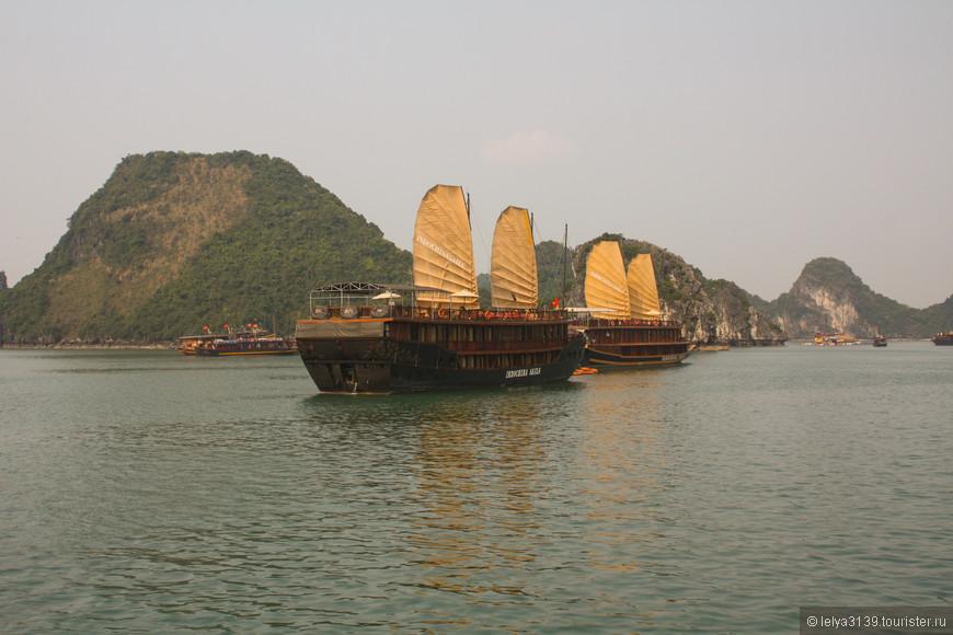 Северный Вьетнам. Залив Халонг