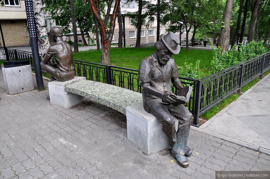 05. Скульптуры сделаны классически, без изюминки. Забегая вперед скажу, что именно в Тагиле есть очень шикарная скульптура.