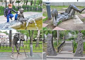 08. Скульптур, на самом деле много – целый парк (сквер).