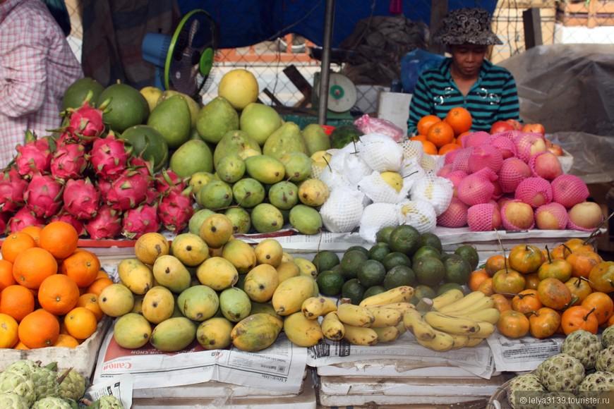 Ни в какой стране я не видела столько фруктов, как во Вьетнаме