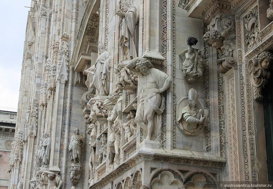 Великолепные стены собора.