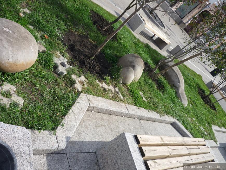 Что это за сад камней, так и не поняли)