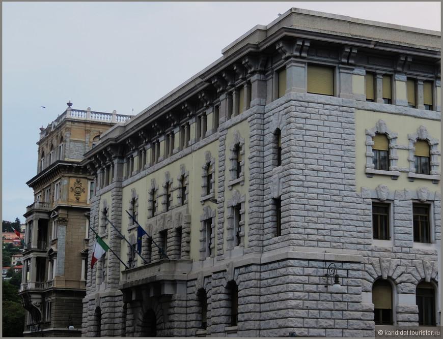Здание Национального  банка.