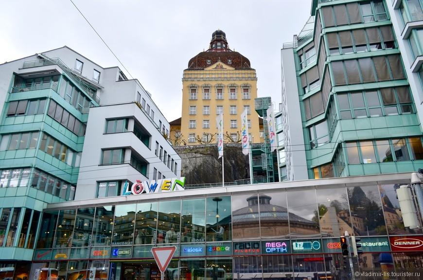 Город преображает и современная архитектура