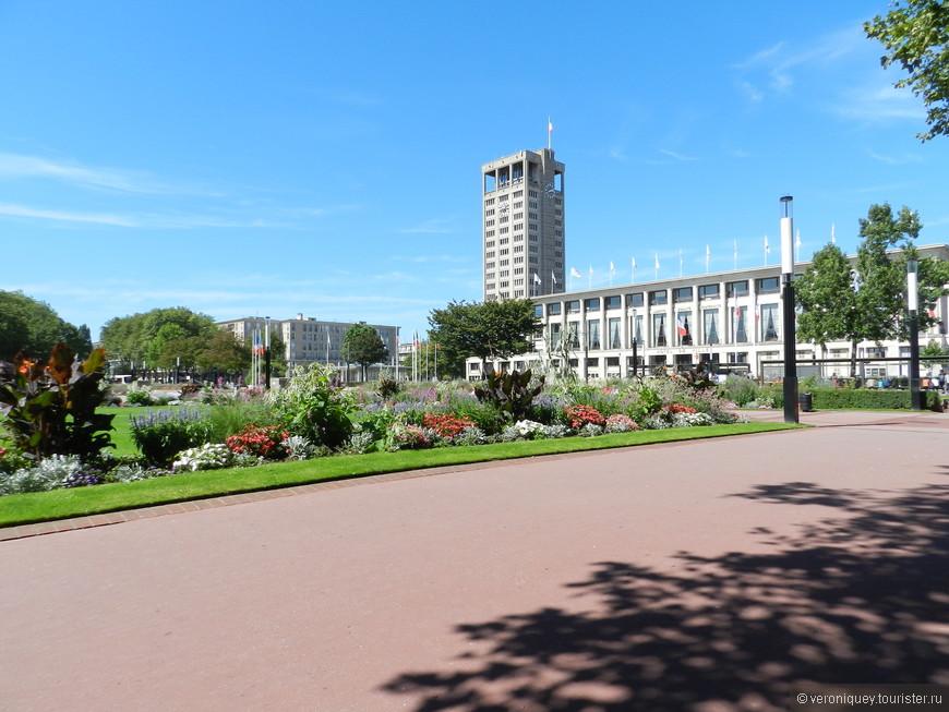 Центральная площадь Гавра