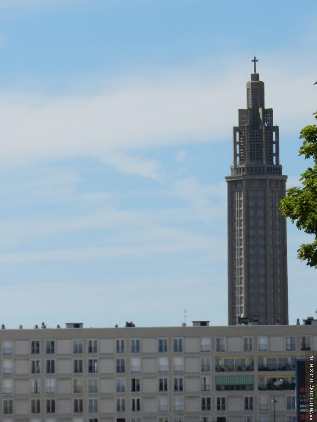 небоскрёб церковь Сен-Жозеф