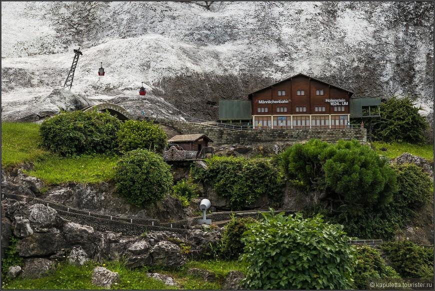 Это многокабинная  канатка  в кантоне Берн. Grindelwald - Grund- Mannlichen. Кто побывал, тот не забудет.