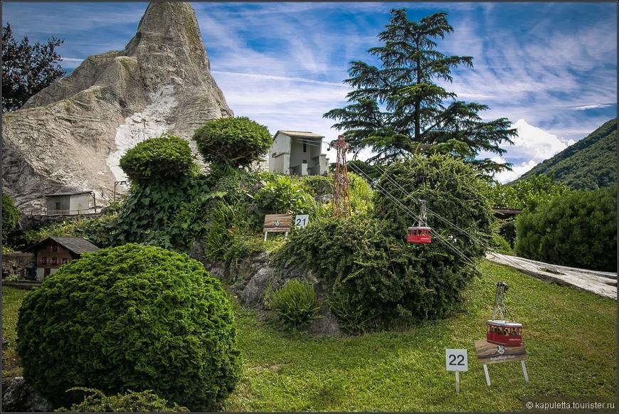 А это- курорт для миллионеров - Санкт-Мориц. Канатная дорога  Surley-Silvaplana-Corvatsch