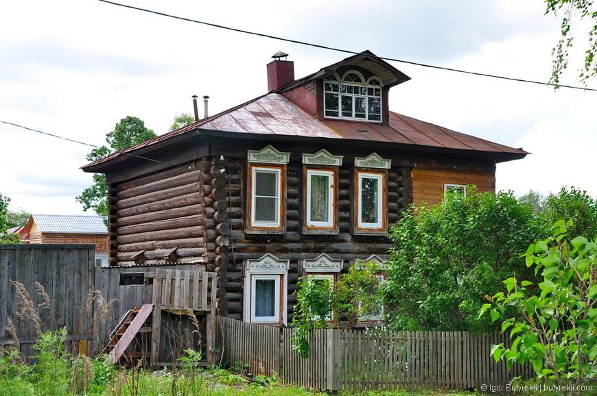 08. Интересная пристройка к домику, крышу перестроили сразу на общую.