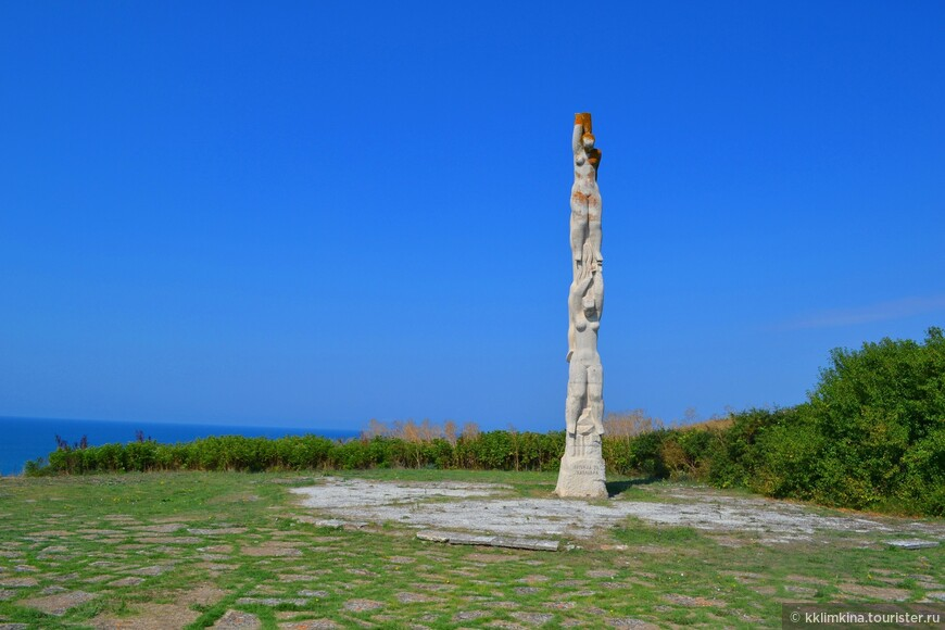 Мыс Калиакра одна из самых главных достопримечательностей Болгарии.