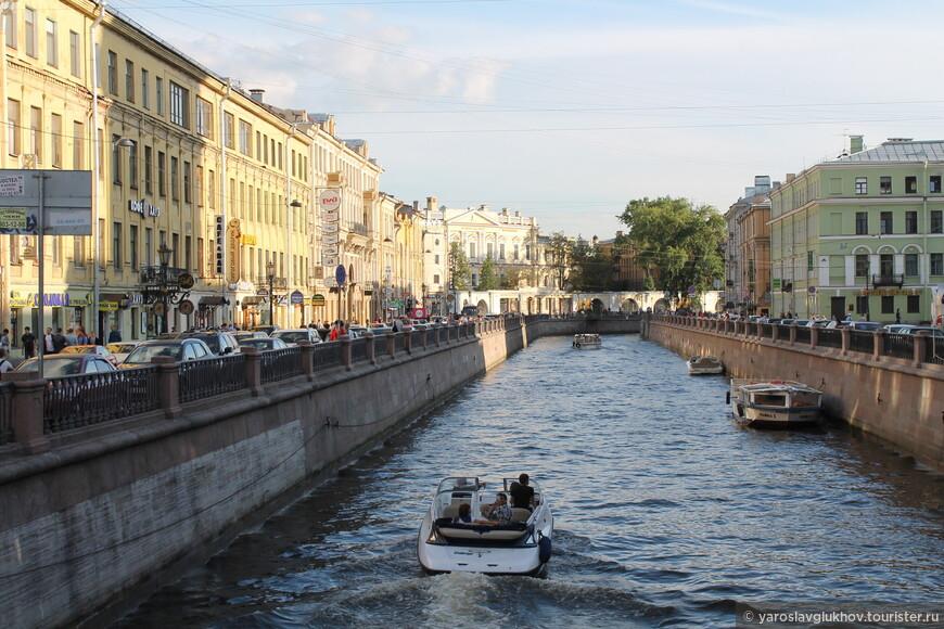 На канале Грибоедова.
