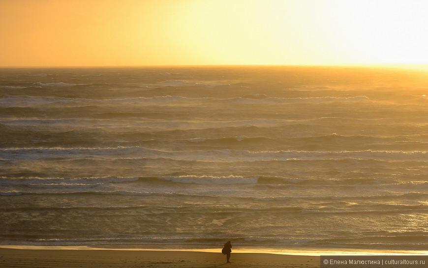 Шторм на море в Нидерландах - день, когда замирает повседневная жизнь...