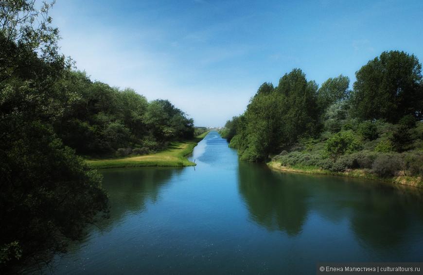 Зелёно-голубой голландский ландшафт - не творение Бога, а рукотоворное произведение голландцев