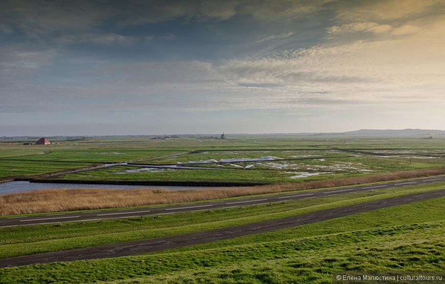 Вот так выглядят Нидерланды с высоты птичьего полёта