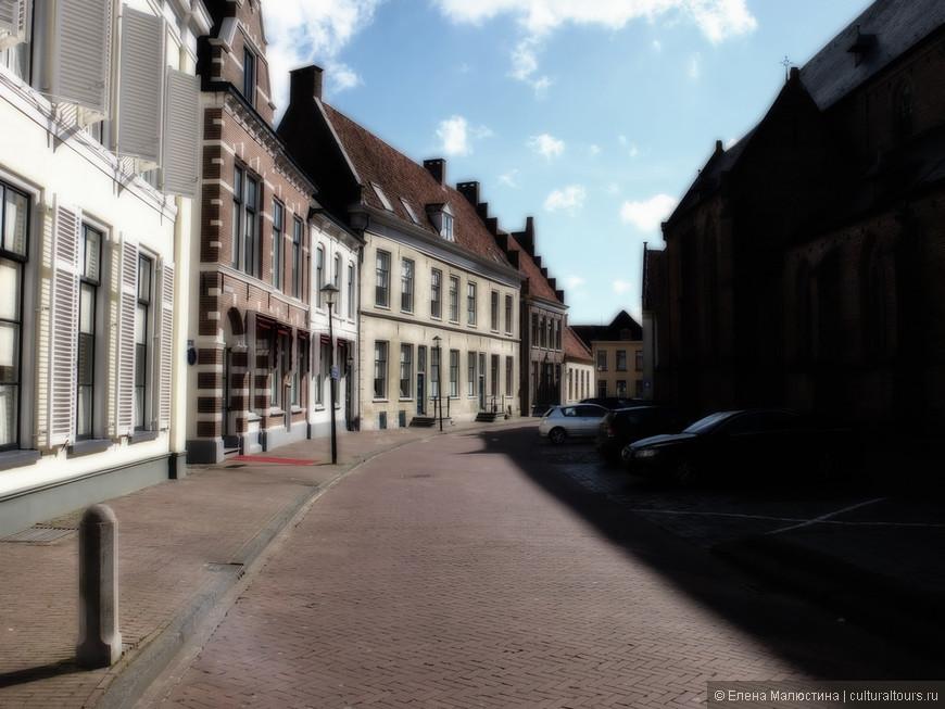 Типичная голландская улочка