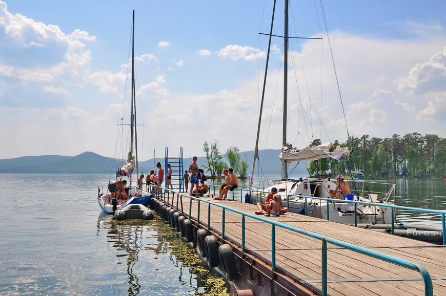 15. Скучающие мореходцы зажатые в озере. А как же романтика большой воды?
