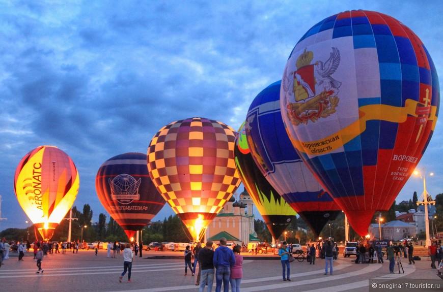 Торжественное открытие первого Кубка Черноземья и чемпионата Воронежской области по воздухоплаванию состоялось 8 сентября, на Адмиралтейской площади.