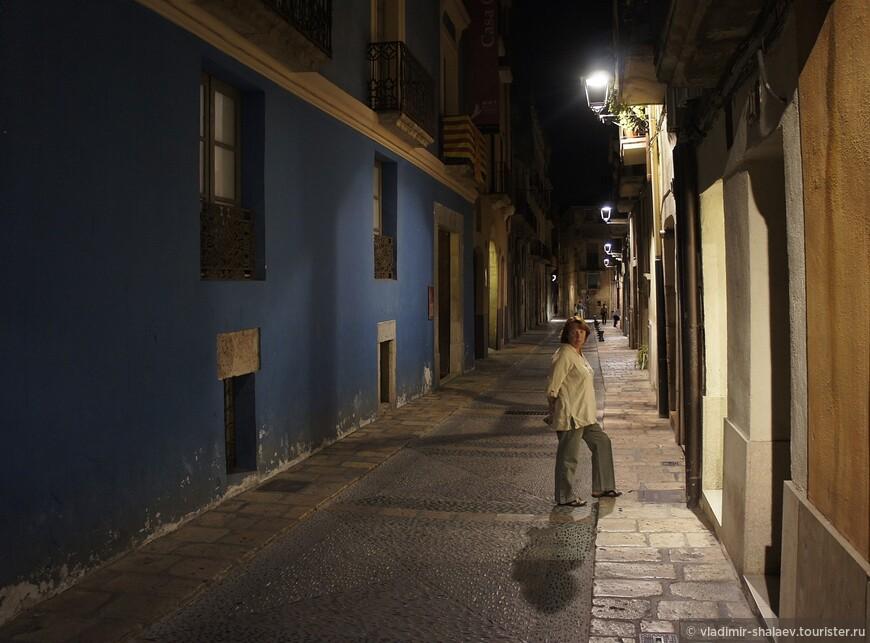 Одна из улиц старого города.