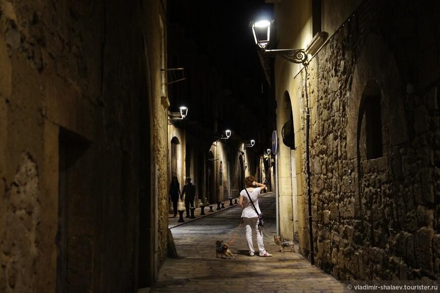 Ночная прогулка.