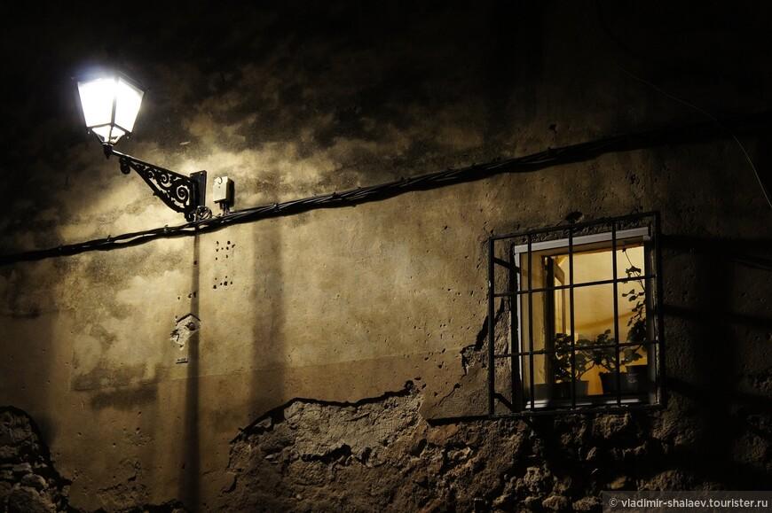Средневековая стена.