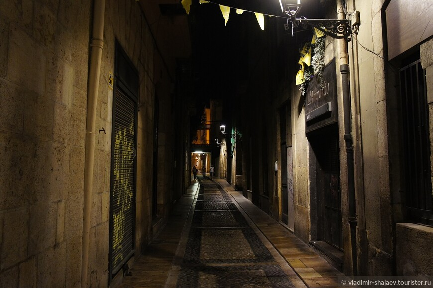 Одна из улиц древнего Таррако.