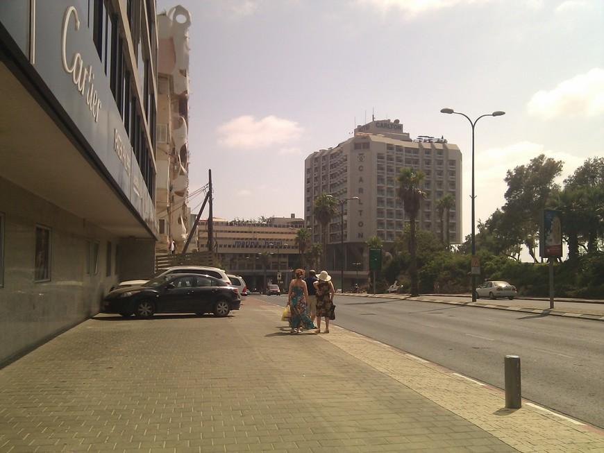 Тель-Авив, отель Carlton 5*