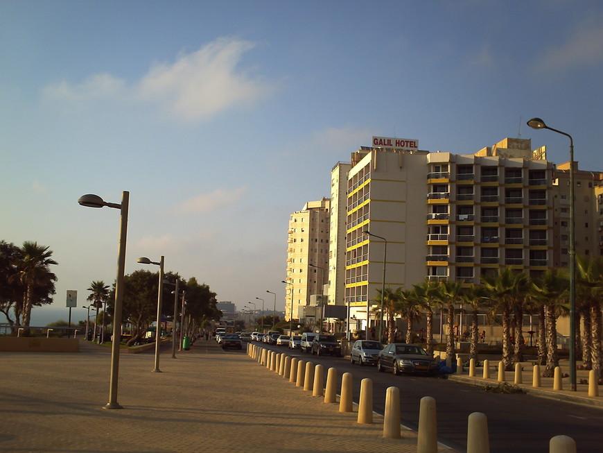 Нетания, отель Galil 3* Хорошая тройка с одним минусом - стоит далеко от центра