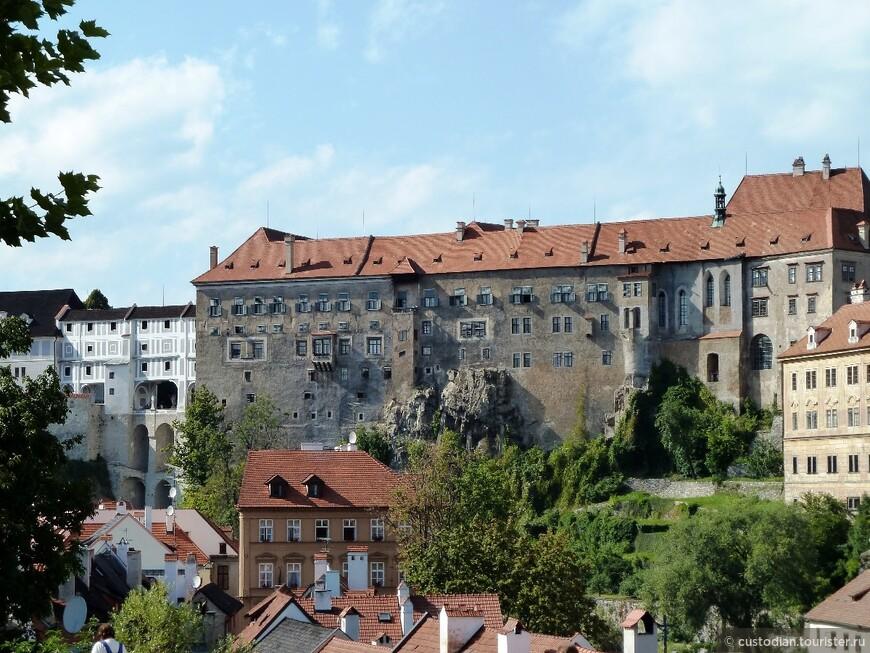 Одноименный замок Чешский Крумлов