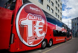 Новый автобусный лоукостер Прибалтики: билеты по 1 евро