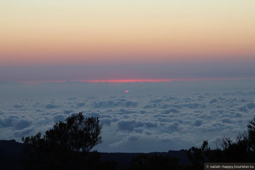 Каждую секунду, когда встает солнце, пейзаж просто меняется на глазах