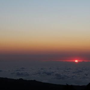 Извержение вулкана Питон де ла Фурнез