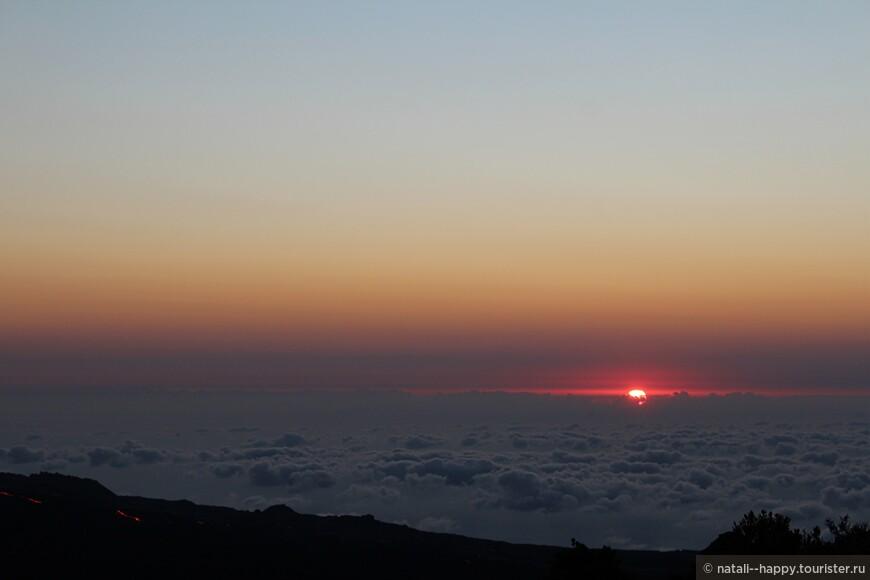 Рассвет на высоте 2600 метров