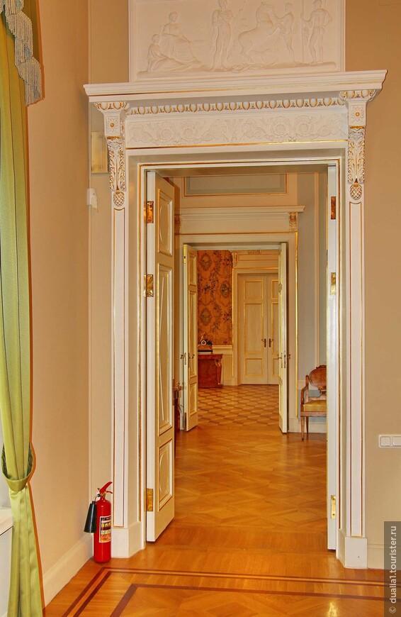 Анфилада парадных залов первого этажа