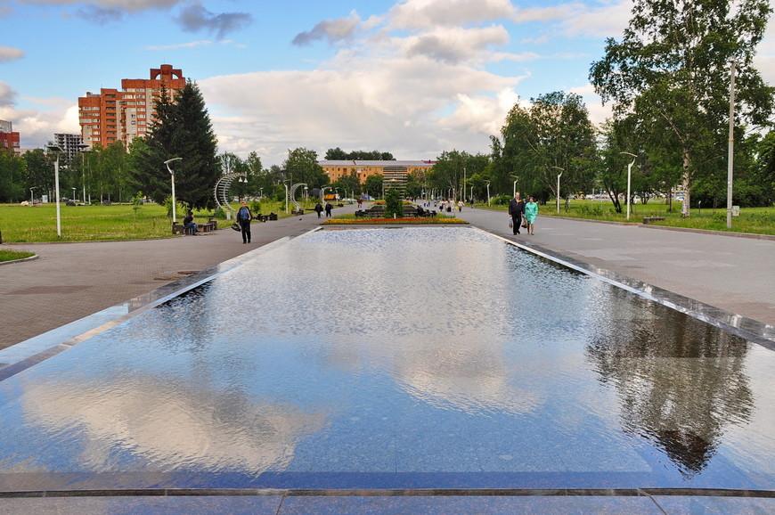 35. А это площадь (парк) напротив вокзала. Отлично сделано.