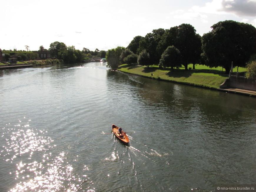 Темза в районе Ричмонд-на-Темзе.