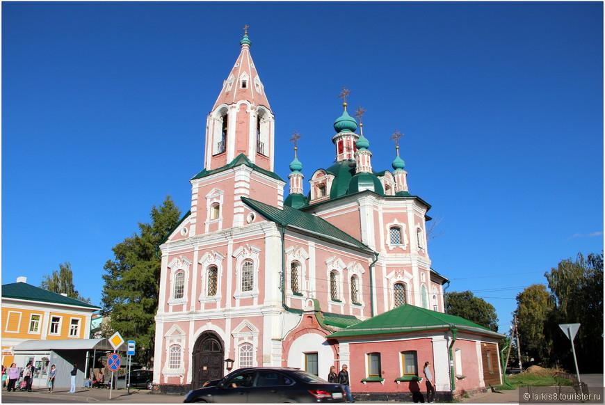 Симоновская церковь 17 век.